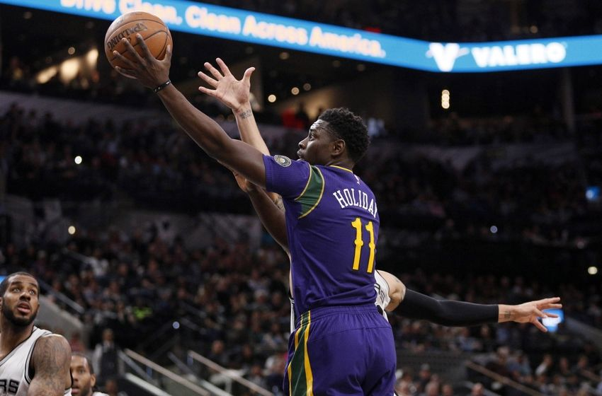 Image result for jrue holiday and danny green