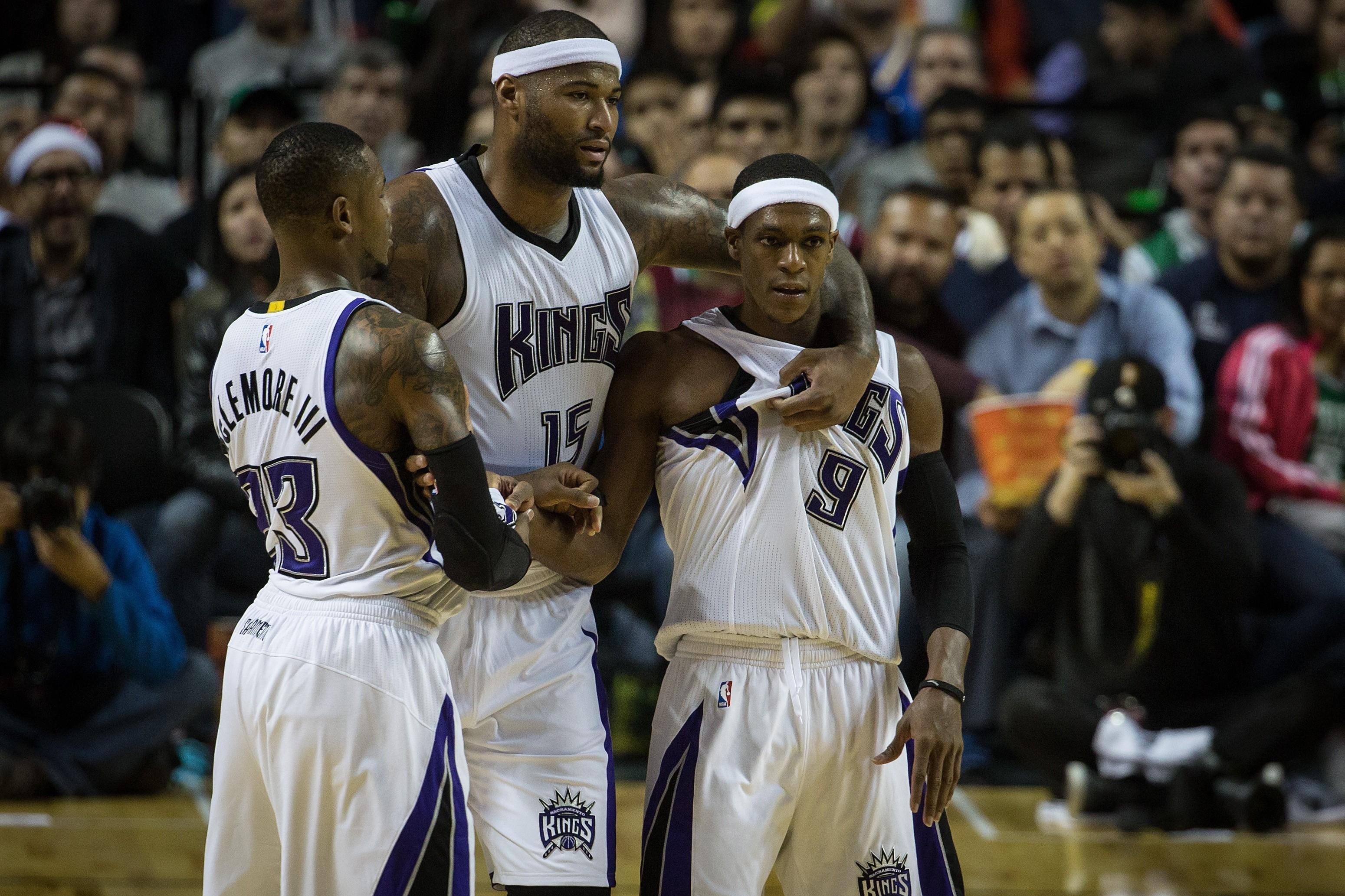 Celtics Vs Kings Image: DeMarcus Cousins And Rajon Rondo: A True Love Story