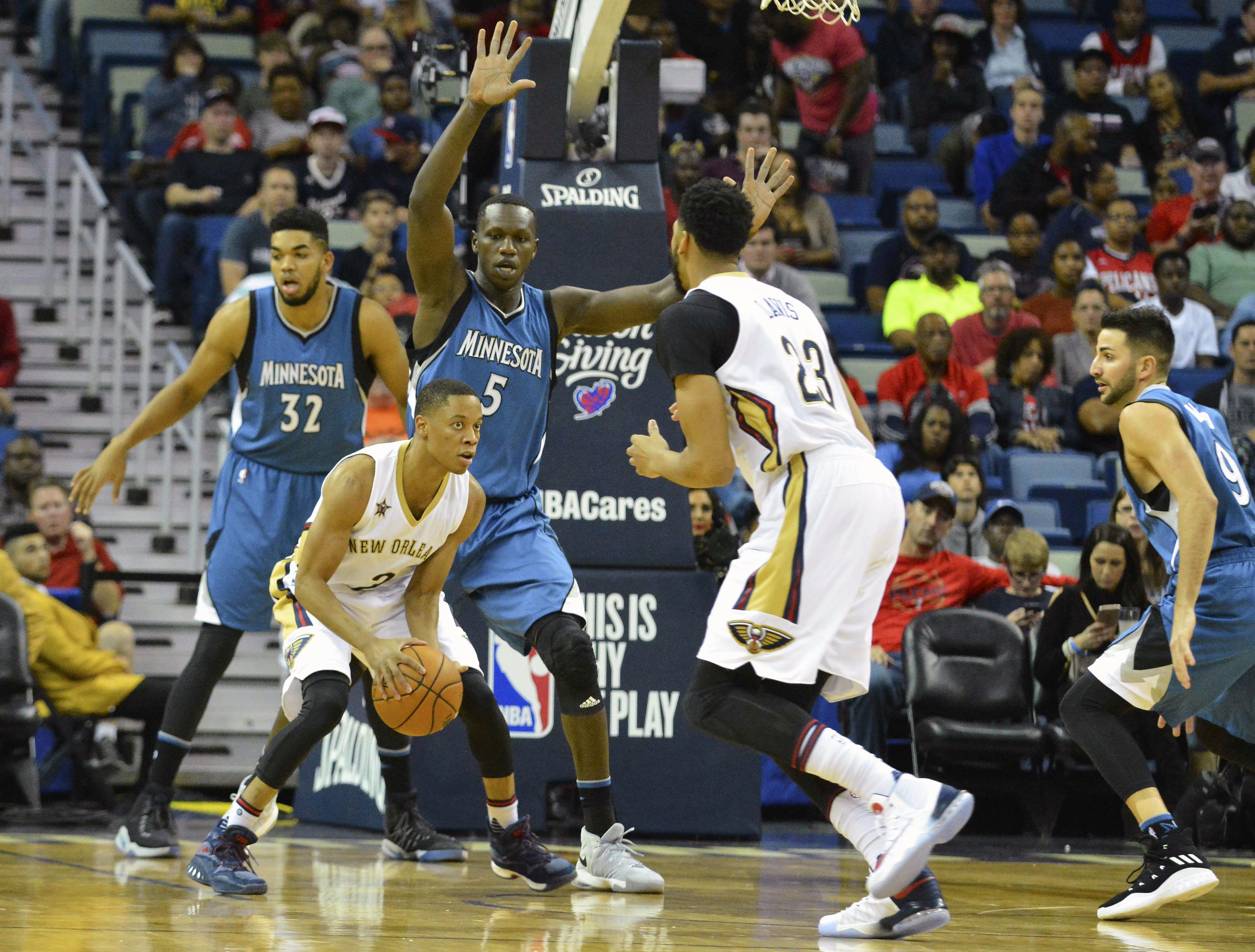 d03fc0395 New Orleans Pelicans Preview  Pelicans Duel Minnesota Timberwolves